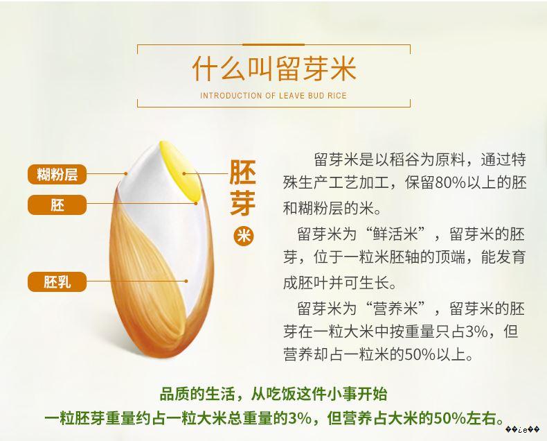 龙谷鲜米有三个核心点